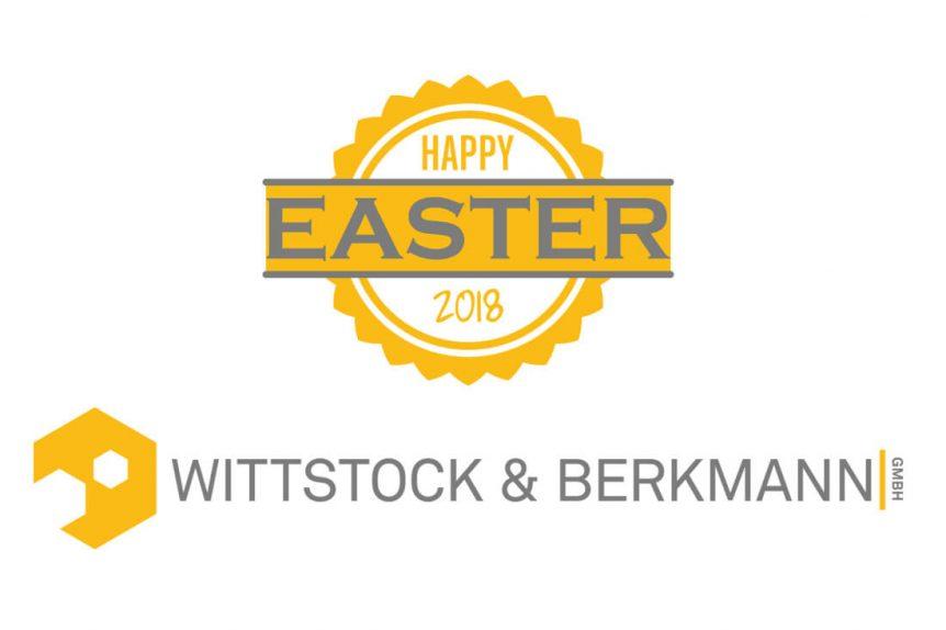Frohe Ostern Wittstock und Berkmann